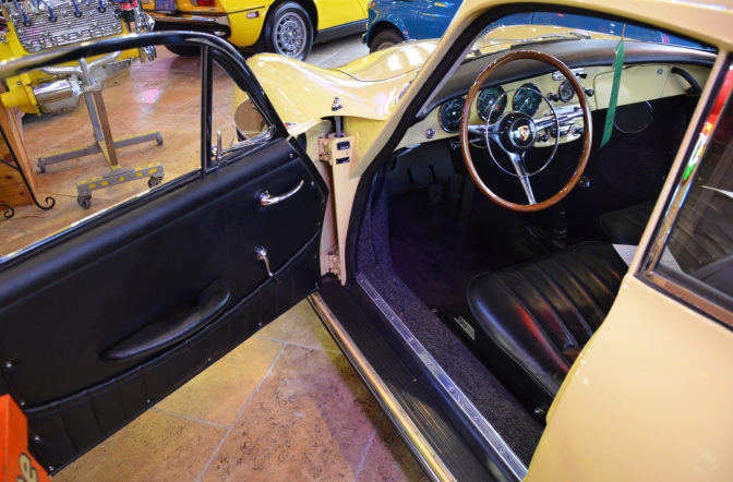 1964 Porsche 356SC Sunroof Coupe 1600 CC, Certificate of Authenticity presented as lot S106.1 at Houston, TX 2013 - image3