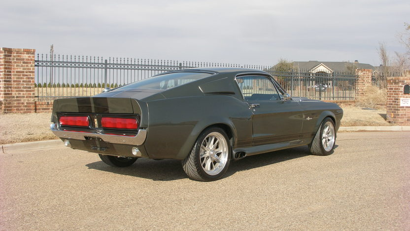 1968 Ford Mustang Eleanor Replica 5-Speed, Nitrous System presented as lot F254.1 at Houston, TX 2013 - image3