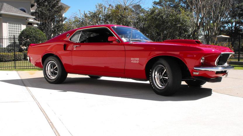 1969 Ford Mustang Boss 429 Fastback KK #1987, Original Drivetrain and Interior presented as lot S138.1 at Houston, TX 2013 - image2