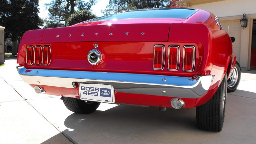 1969 Ford Mustang Boss 429 Fastback KK #1987, Original Drivetrain and Interior presented as lot S138.1 at Houston, TX 2013 - image3