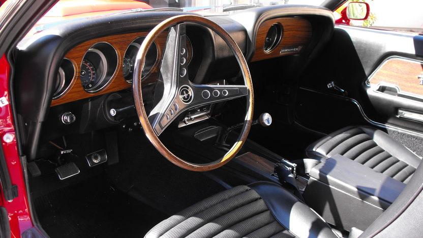 1969 Ford Mustang Boss 429 Fastback KK #1987, Original Drivetrain and Interior presented as lot S138.1 at Houston, TX 2013 - image4