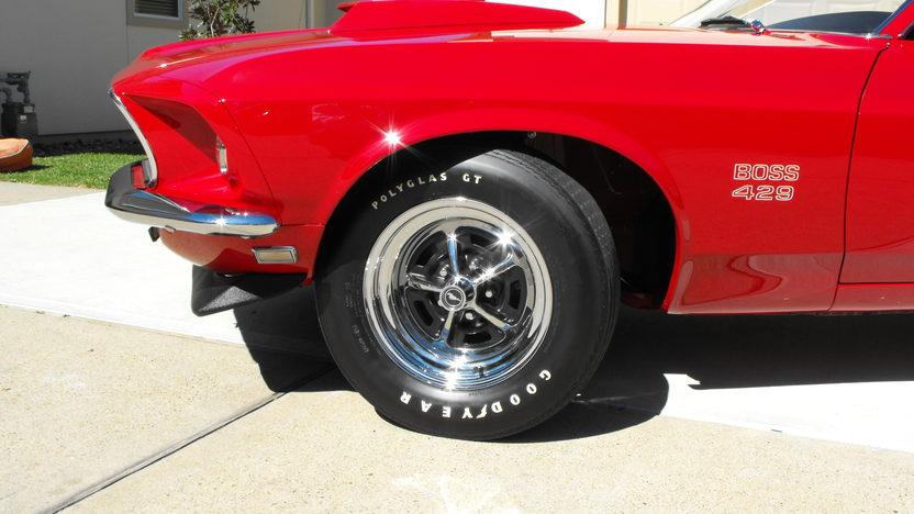 1969 Ford Mustang Boss 429 Fastback KK #1987, Original Drivetrain and Interior presented as lot S138.1 at Houston, TX 2013 - image7