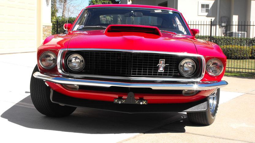 1969 Ford Mustang Boss 429 Fastback KK #1987, Original Drivetrain and Interior presented as lot S138.1 at Houston, TX 2013 - image8