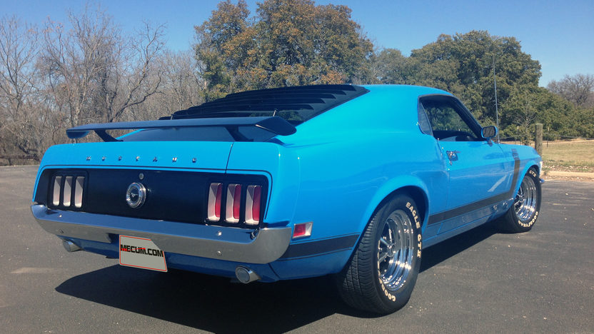 1970 Ford Mustang Boss 302 Fastback 302/290 HP, 4-Speed presented as lot S203 at Houston, TX 2013 - image2