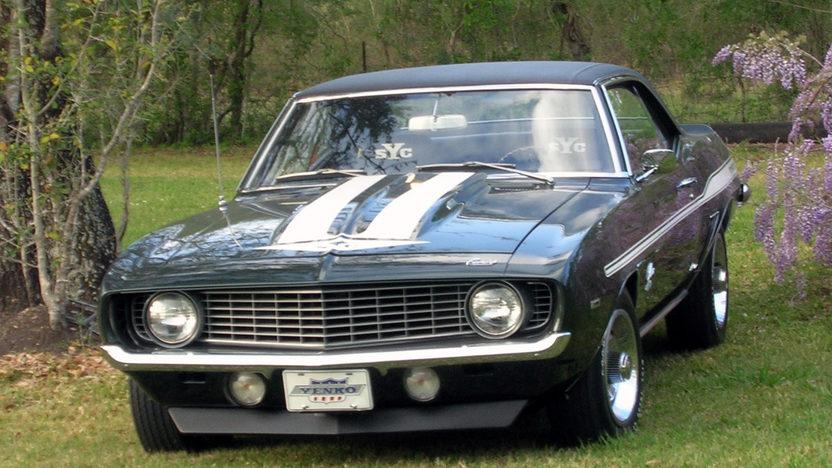 1969 Chevrolet Yenko Camaro Two Time Gold Spinner Award Winner presented as lot S128 at Houston, TX 2013 - image8
