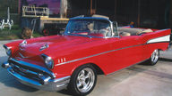 1957 Chevrolet Bel Air Convertible Canceled Lot presented as lot F189 at Houston, TX 2013 - thumbail image4