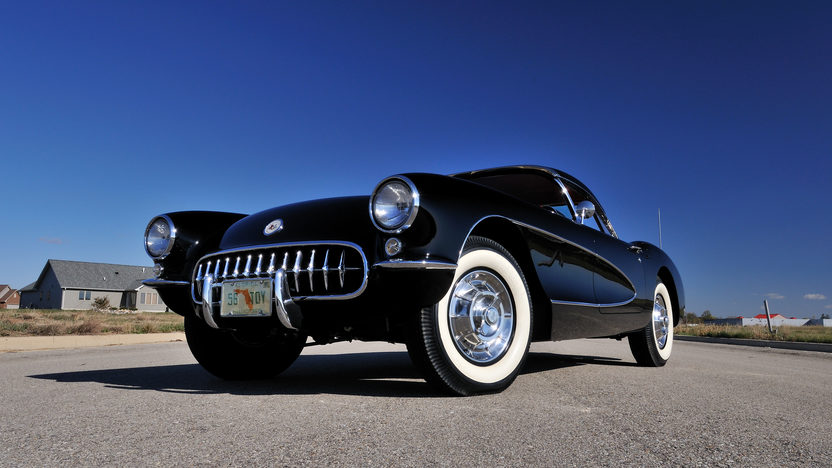 1956 Chevrolet Corvette Resto Mod Aluminum 414 CI, 4-Speed presented as lot S81.1 at Houston, TX 2013 - image12
