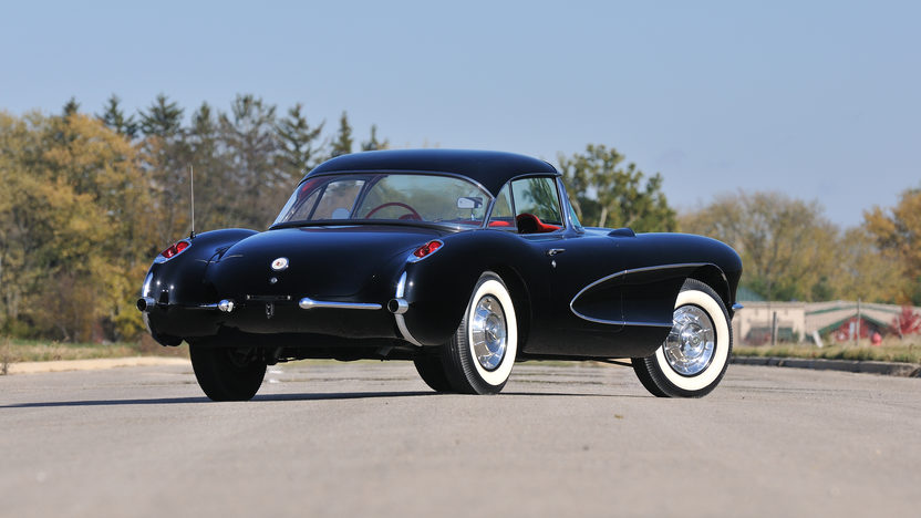 1956 Chevrolet Corvette Resto Mod Aluminum 414 CI, 4-Speed presented as lot S81.1 at Houston, TX 2013 - image2