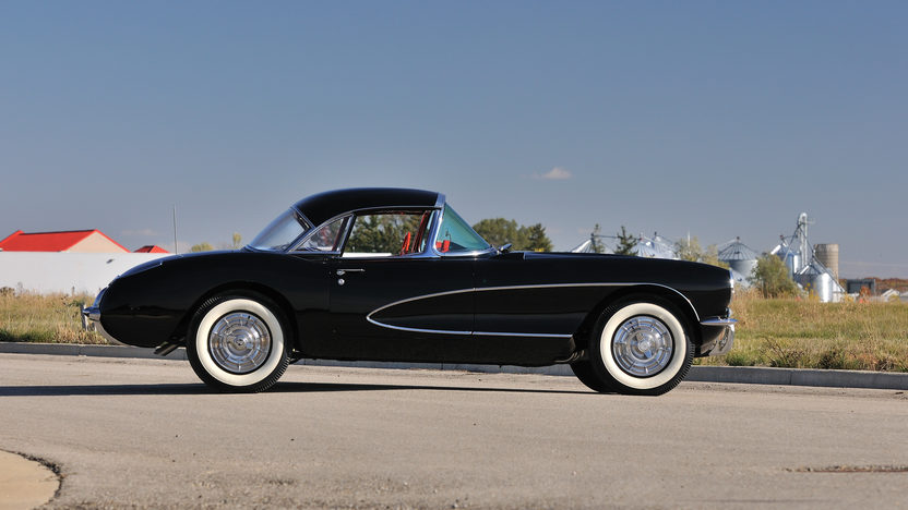 1956 Chevrolet Corvette Resto Mod Aluminum 414 CI, 4-Speed presented as lot S81.1 at Houston, TX 2013 - image3