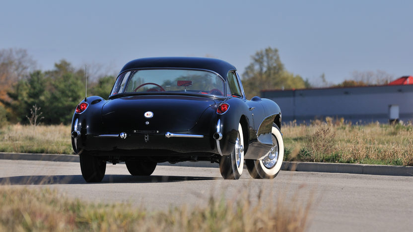 1956 Chevrolet Corvette Resto Mod Aluminum 414 CI, 4-Speed presented as lot S81.1 at Houston, TX 2013 - image8