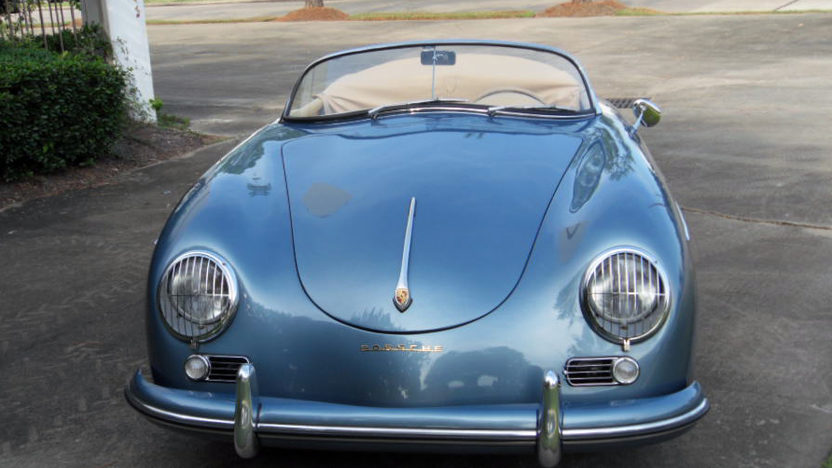 1956 Porsche 356A Super Speedster 1600S Engine, Nut and Bolt Restoration presented as lot S130.1 at Houston, TX 2013 - image7