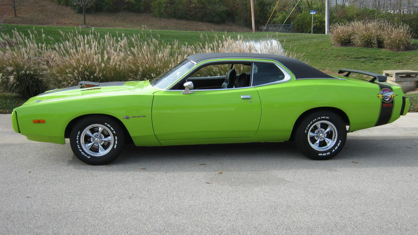 1973 Dodge Charger 440 CI, Automatic presented as lot F37.1 at Houston, TX 2013 - image2