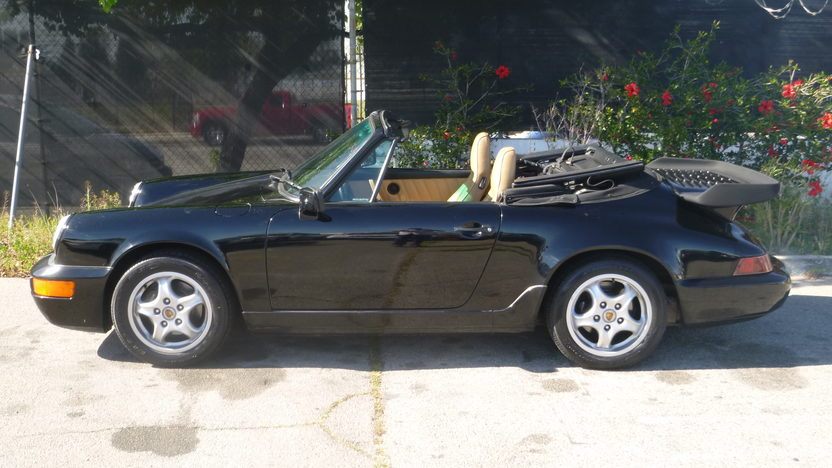 1991 Porsche Carrera Convertible presented as lot F151.1 at Houston, TX 2013 - image2