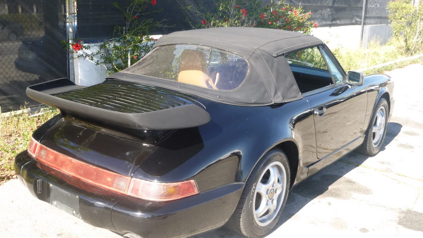 1991 Porsche Carrera Convertible presented as lot F151.1 at Houston, TX 2013 - image6