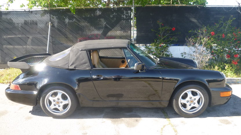 1991 Porsche Carrera Convertible presented as lot F151.1 at Houston, TX 2013 - image7