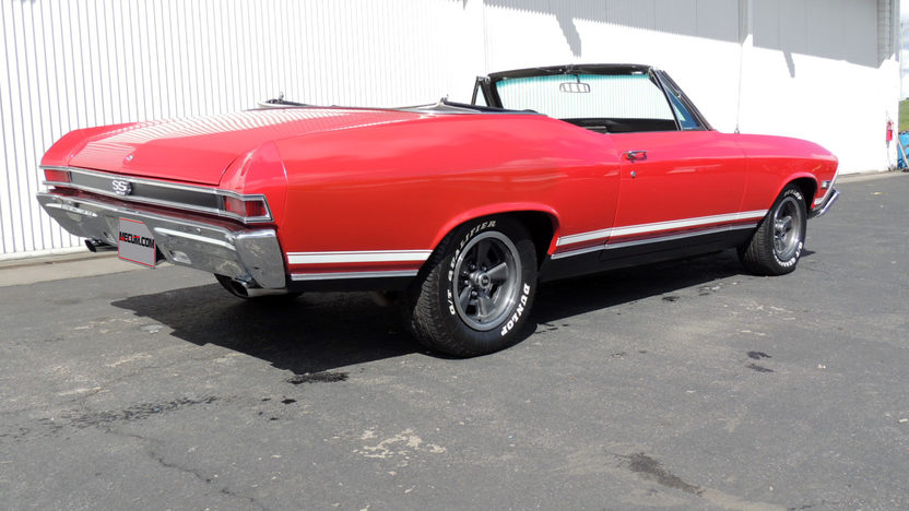 1968 Chevrolet Chevelle SS Convertible 396 CI, Automatic presented as lot F201.1 at Houston, TX 2013 - image3