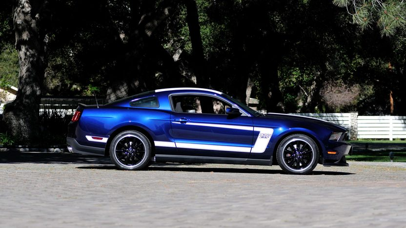 2012 Ford Mustang Boss 302 Coupe presented as lot F208.1 at Houston, TX 2013 - image2