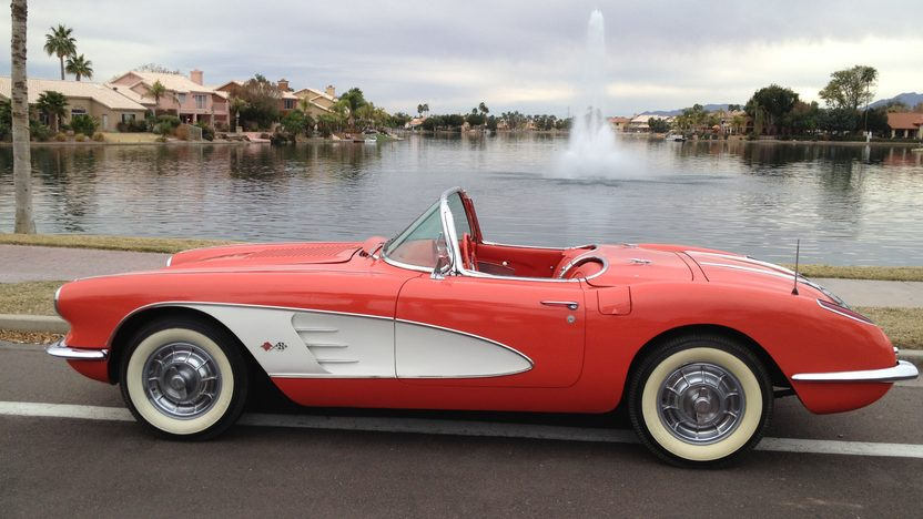 1958 Chevrolet Corvette 327 CI, 4-Speed presented as lot S20 at Houston, TX 2013 - image2