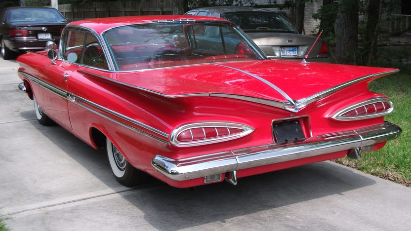 1959 Chevrolet Impala Hardtop 283 CI, Automatic presented as lot F240.1 at Houston, TX 2013 - image8