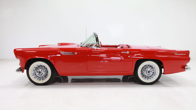 1955 Ford Thunderbird 292 CI, 3-Speed presented as lot F293 at Houston, TX 2013 - image2