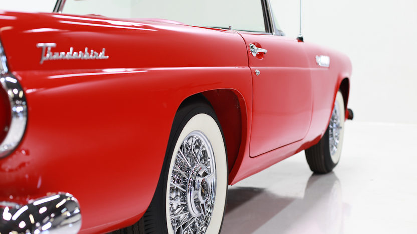 1955 Ford Thunderbird 292 CI, 3-Speed presented as lot F293 at Houston, TX 2013 - image6