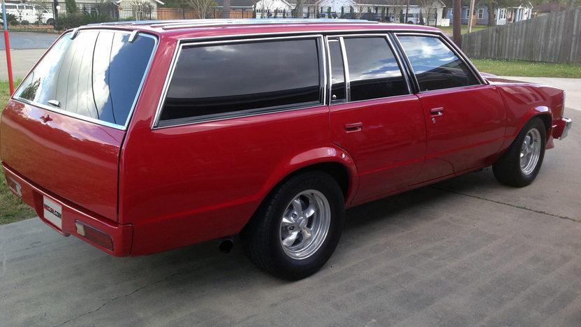 1980 Chevrolet Malibu Wagon 406 CI, Automatic presented as lot F9 at Houston, TX 2013 - image2