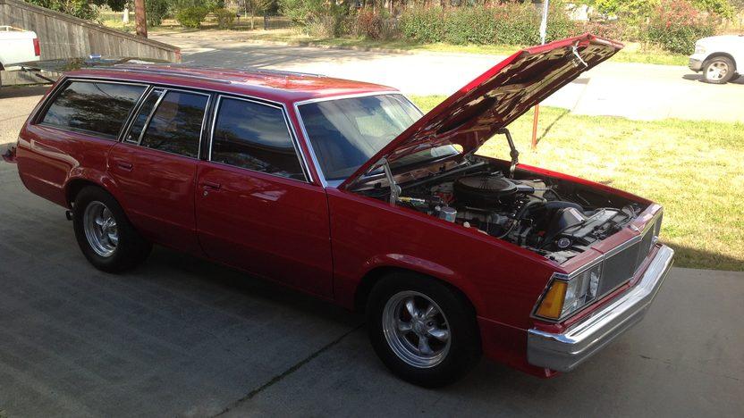 1980 Chevrolet Malibu Wagon 406 CI, Automatic presented as lot F9 at Houston, TX 2013 - image7