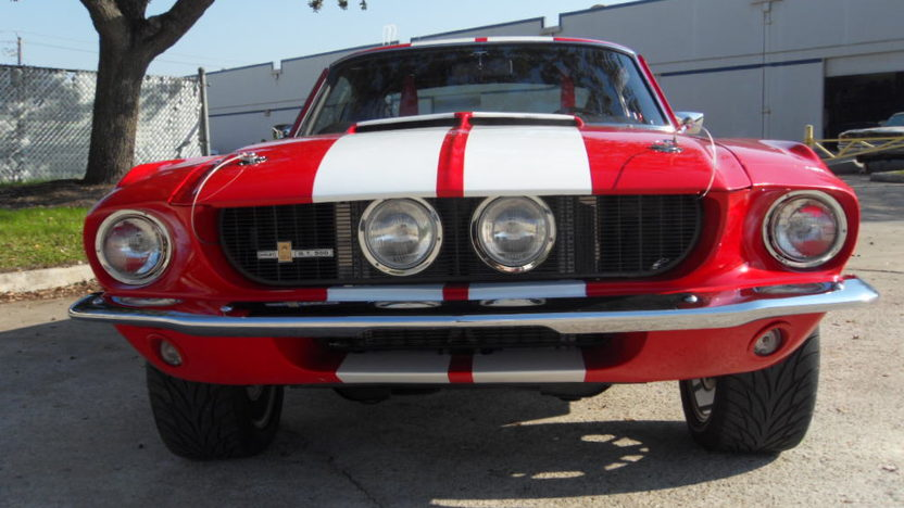 1968 Ford Mustang 1967 Shelby GT500 Replica presented as lot S82 at Houston, TX 2013 - image5