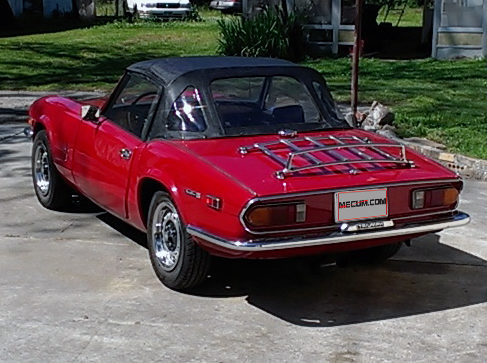 1971 Triumph Spitfire presented as lot T16 at Houston, TX 2014 - image3