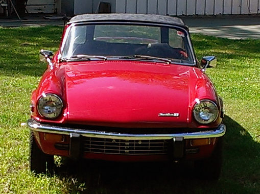 1971 Triumph Spitfire presented as lot T16 at Houston, TX 2014 - image4