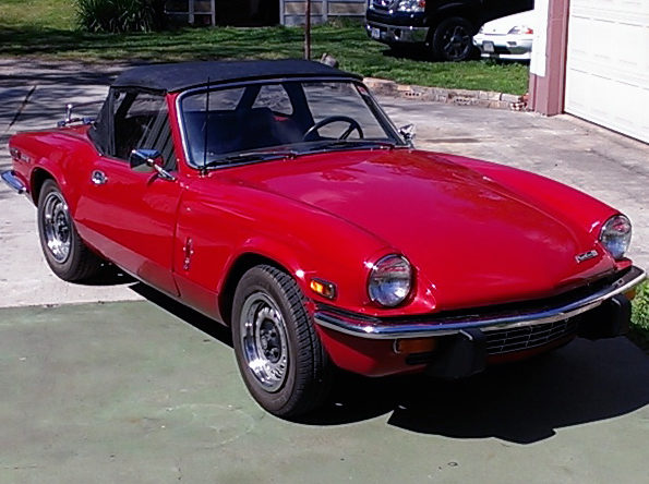 1971 Triumph Spitfire presented as lot T16 at Houston, TX 2014 - image5
