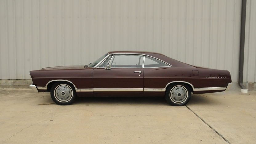 1967 Ford Galaxie 500 Fastback 289 CI, Automatic presented as lot T80 at Houston, TX 2014 - image2