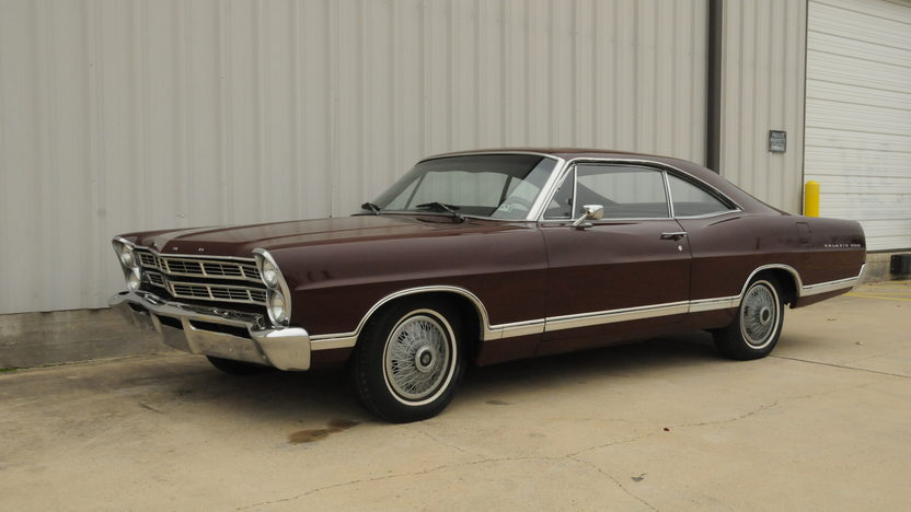 1967 Ford Galaxie 500 Fastback 289 CI, Automatic presented as lot T80 at Houston, TX 2014 - image6