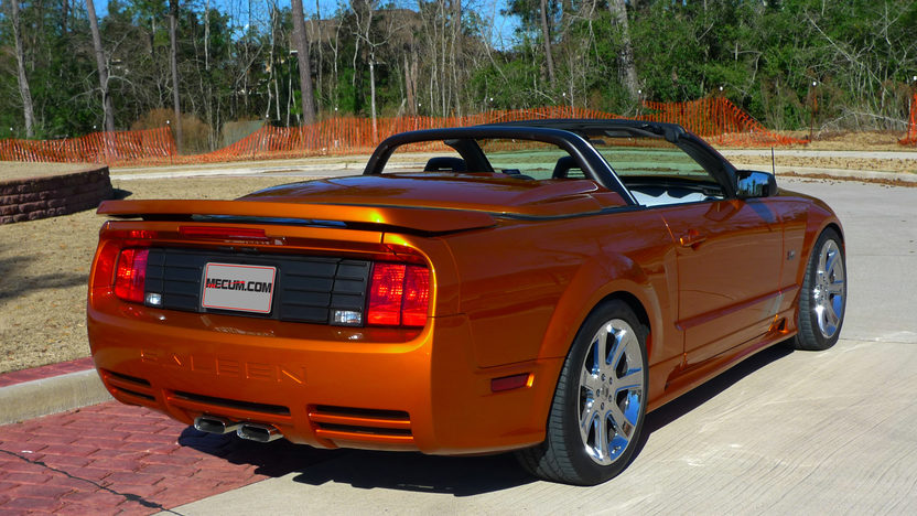 2007 Ford Mustang Saleen S281 4.6/465 HP, Speedster Package presented as lot F73 at Houston, TX 2014 - image3