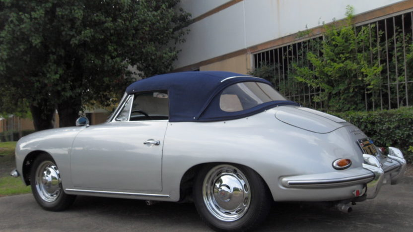 1960 Porsche 356B Cabriolet 90 HP, 4-Speed presented as lot S107 at Houston, TX 2014 - image2