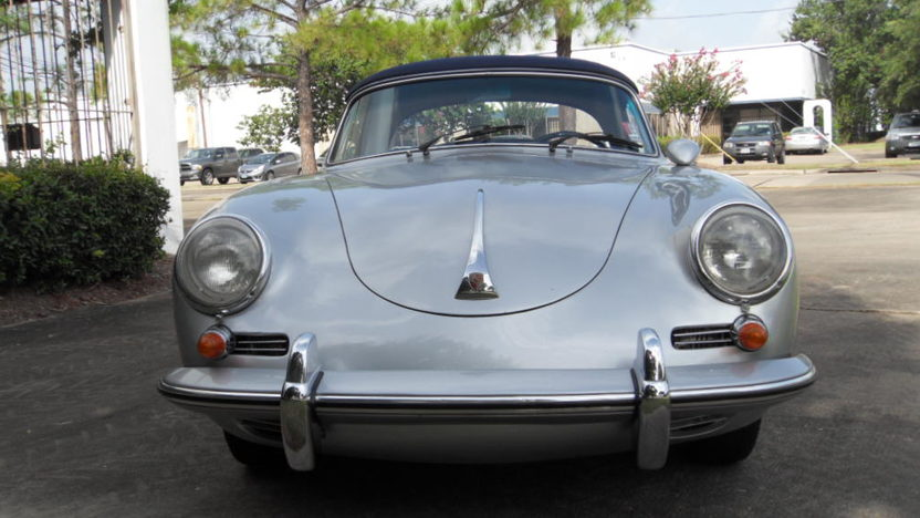 1960 Porsche 356B Cabriolet 90 HP, 4-Speed presented as lot S107 at Houston, TX 2014 - image7