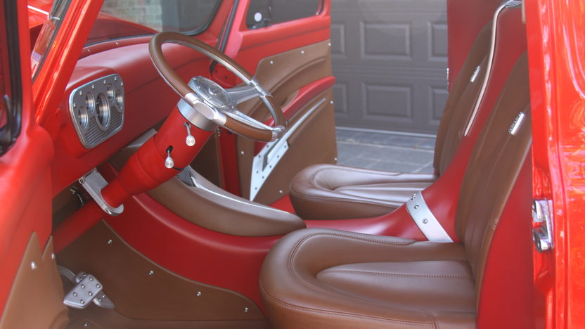 1953 Ford F100 Pickup 350 CI, Stepside Bed presented as lot S69 at Houston, TX 2014 - image4