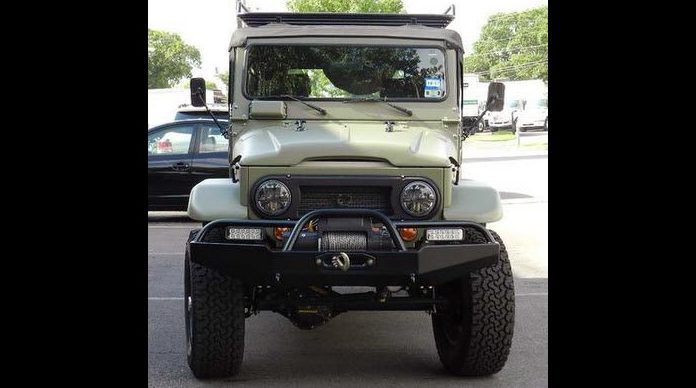 1968 Toyota FJ-44 5.3L, Warn Winch presented as lot S228 at Houston, TX 2014 - image8