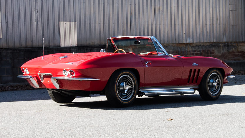 1966 Chevrolet Corvette Convertible 427/425 HP, 4-Speed presented as lot S110.1 at Houston, TX 2014 - image3