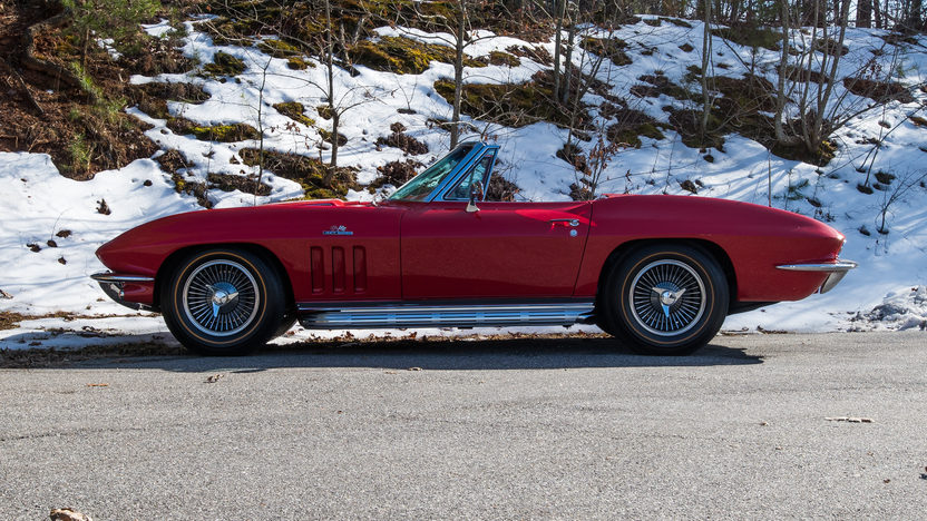 1966 Chevrolet Corvette Convertible 427/425 HP, 4-Speed presented as lot S110.1 at Houston, TX 2014 - image7