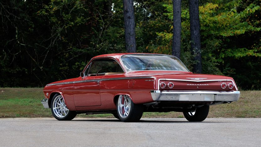 1962 Chevrolet Bel Air Bubble Top Resto Mod, 5.7L, 6-Speed presented as lot F91.1 at Houston, TX 2014 - image3