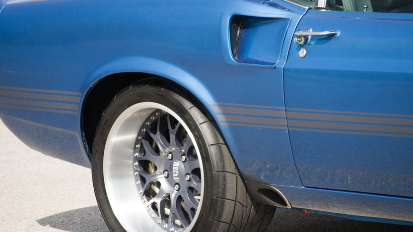 1969 Ford Mustang Mach 1 Resto Mod 527 CI, 5-Speed presented as lot S70.1 at Houston, TX 2014 - image11