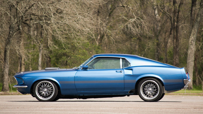 1969 Ford Mustang Mach 1 Resto Mod 527 CI, 5-Speed presented as lot S70.1 at Houston, TX 2014 - image12
