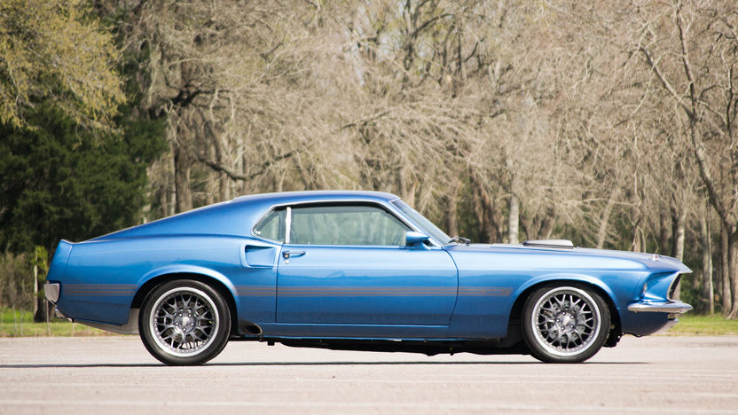 1969 Ford Mustang Mach 1 Resto Mod 527 CI, 5-Speed presented as lot S70.1 at Houston, TX 2014 - image2