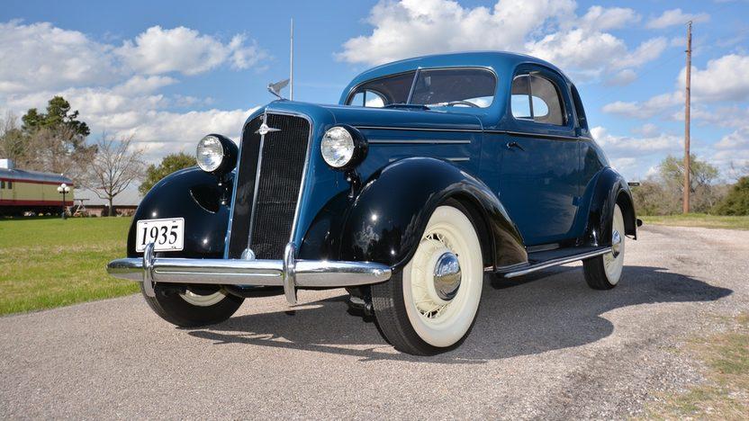 1935 chevrolet 5 window coupe mecum houston 2015 s179 for 1935 chevrolet 3 window coupe