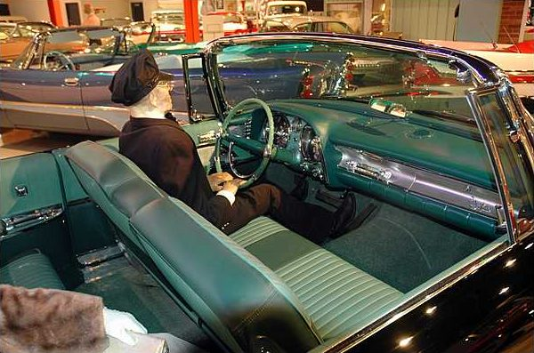 1957 Chrysler Imperial Convertible 392/325 HP, Automatic presented as lot S5 at Branson, MO 2009 - image2