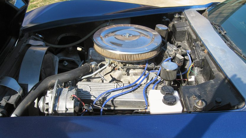 1975 Chevrolet Corvette Coupe 350 CI, 4-Speed Manual presented as lot F46 at Des Moines, IA 2009 - image6