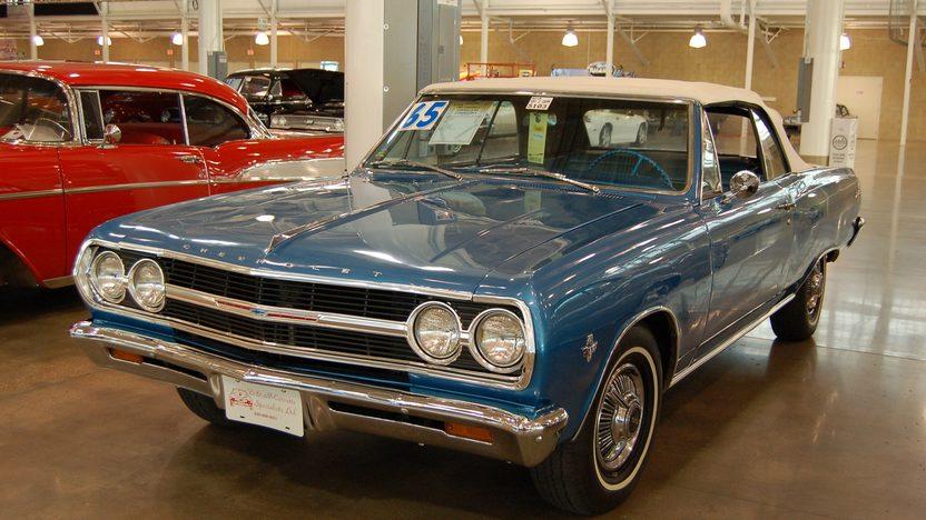 1965 Chevrolet Chevelle Ss Convertible Mecum Des Moines