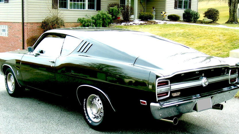 1969 Ford Torino Cobra Fastback 428/335 HP Super Cobra Jet, 4-Speed Manual presented as lot S107 at Des Moines, IA 2009 - image2