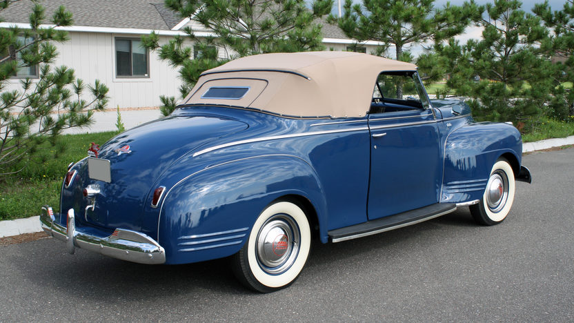 1941 Plymouth Special Deluxe Convertible | Mecum Des Moines 2010 | S124